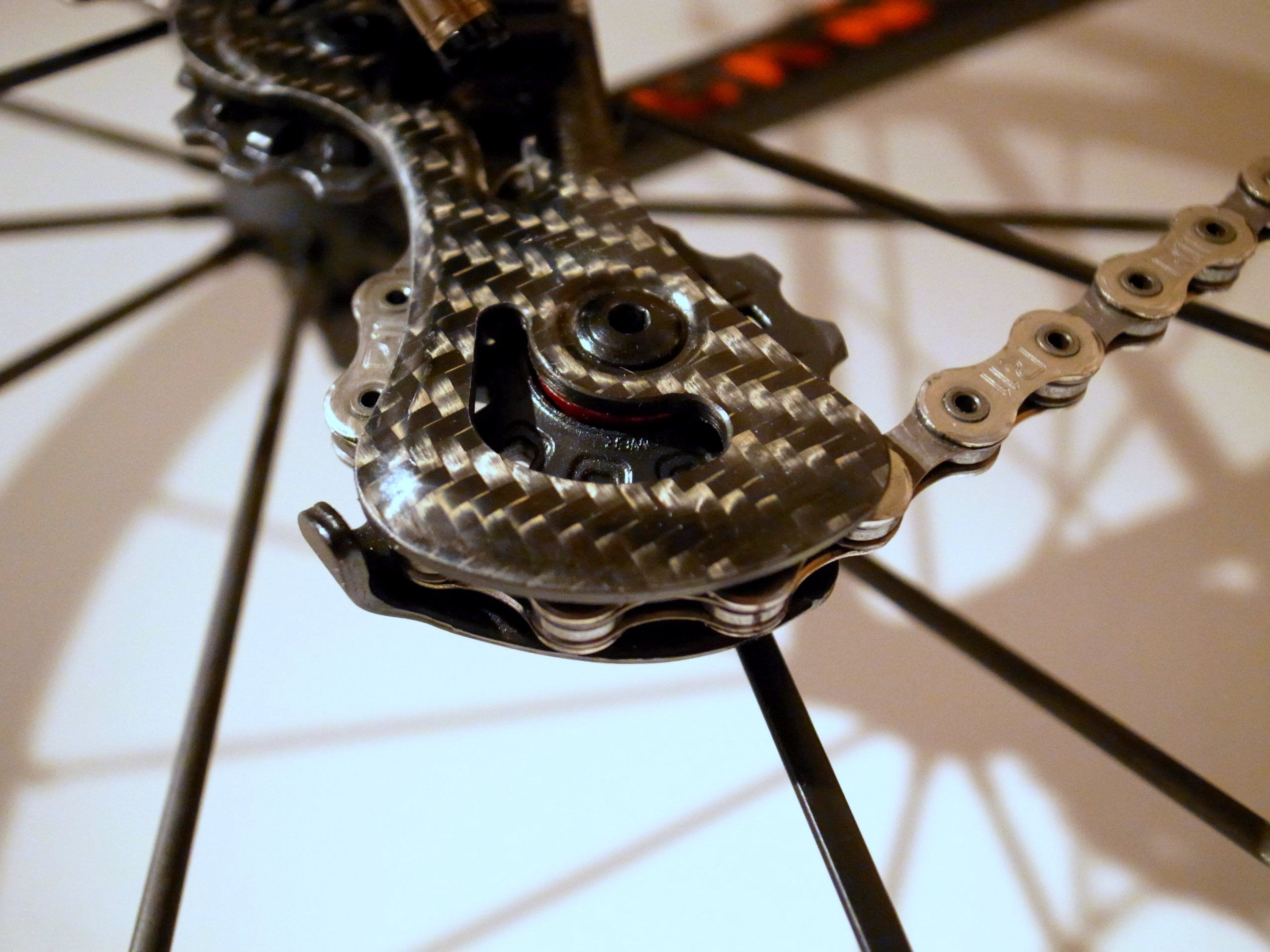 Campagnolo Super Record EPS のリアディレイラー