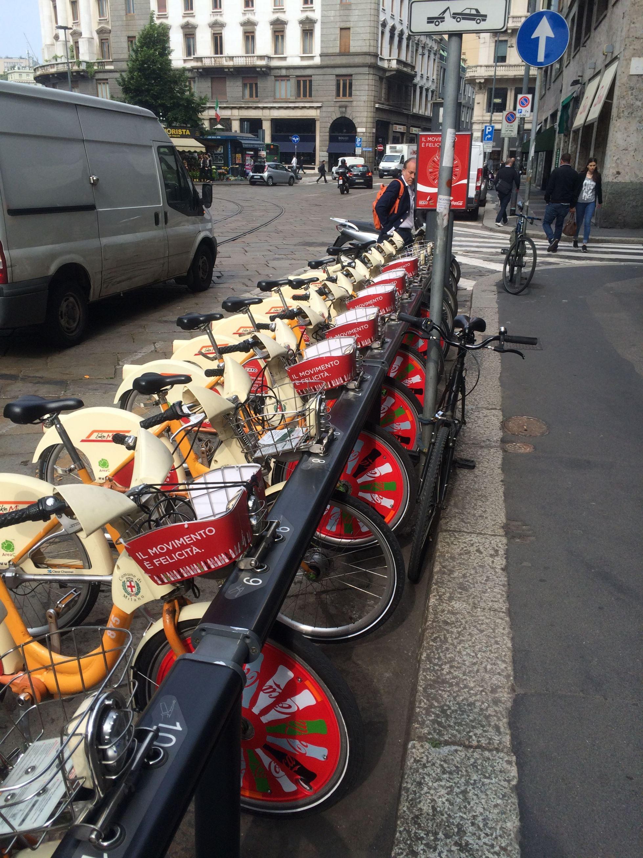 ミラノのレンタルバイク 「bikeMi」から見えるもの