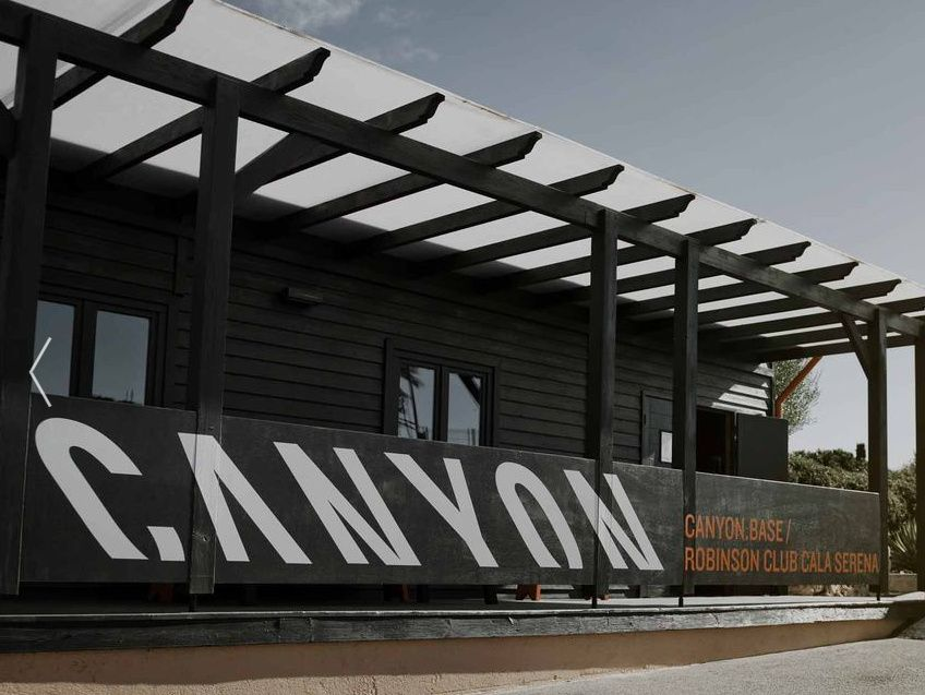 CANYONのレンタルができる、「CANYON.BASE」 @マヨルカ島