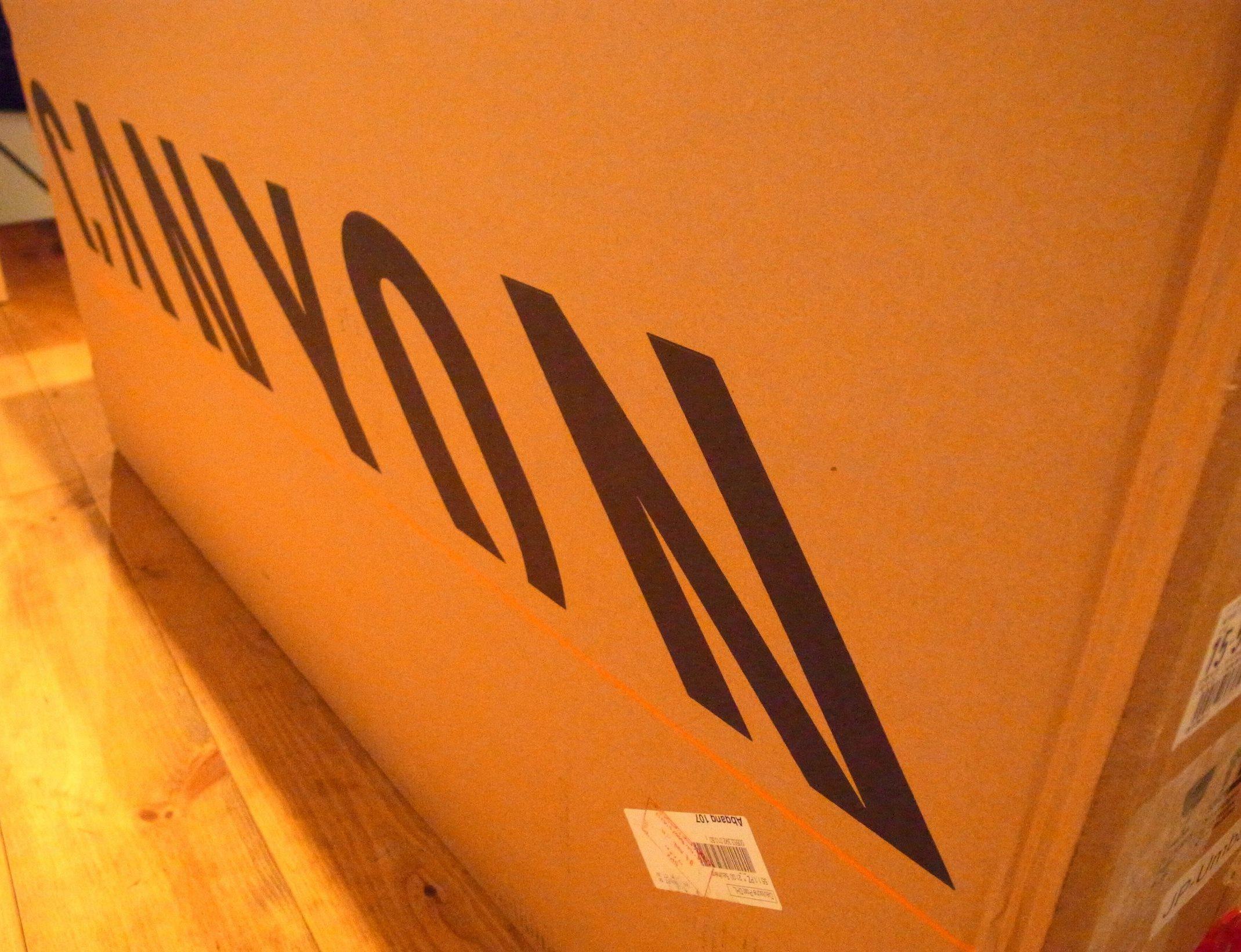 CANYON ULTIMATE CF SLXが自宅に到着