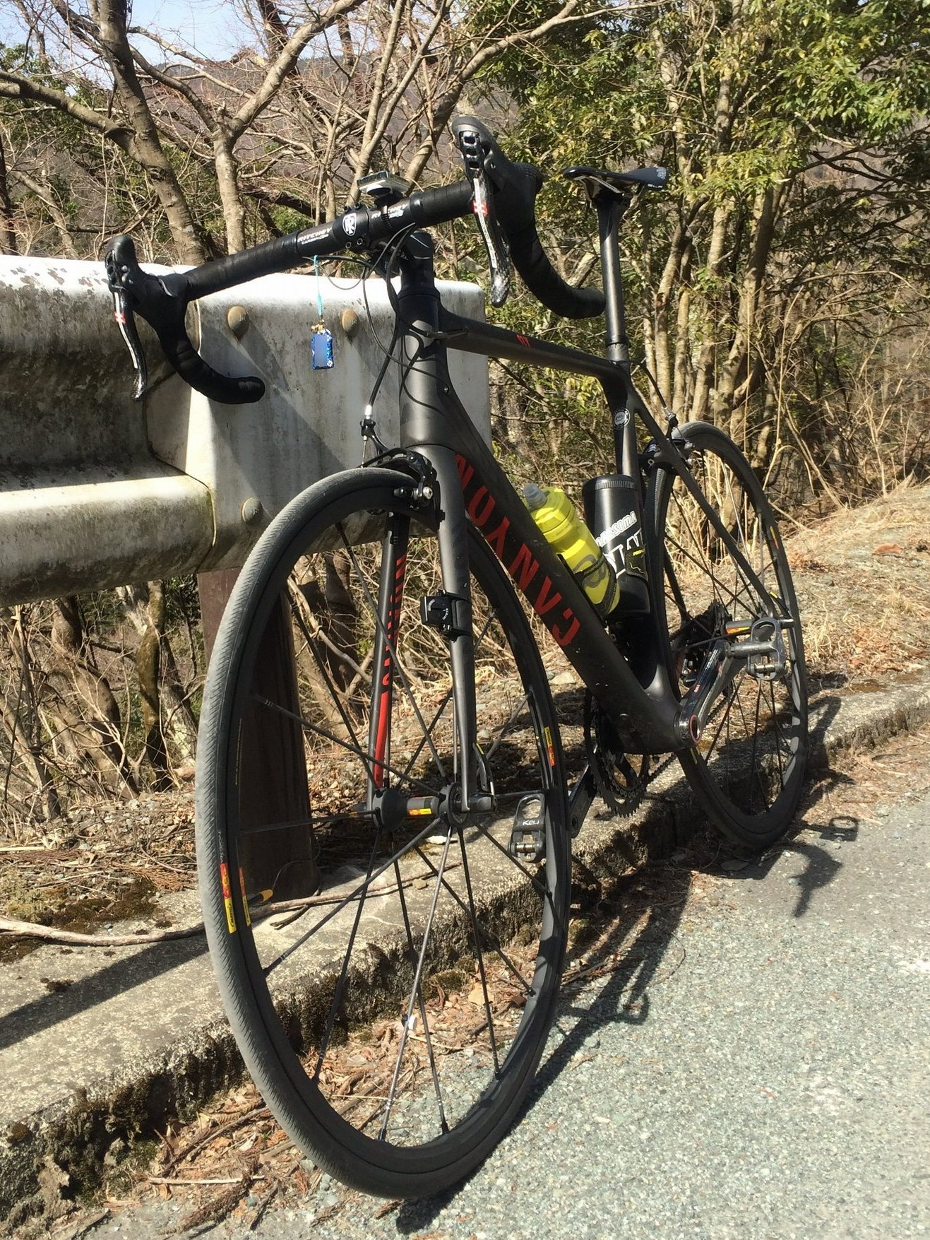 久しぶりに130kmライド(尾根幹→道志みち) with Canyon Ultimate CF SLX