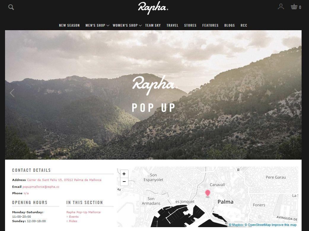 Rapha POP-UP Mallorca
