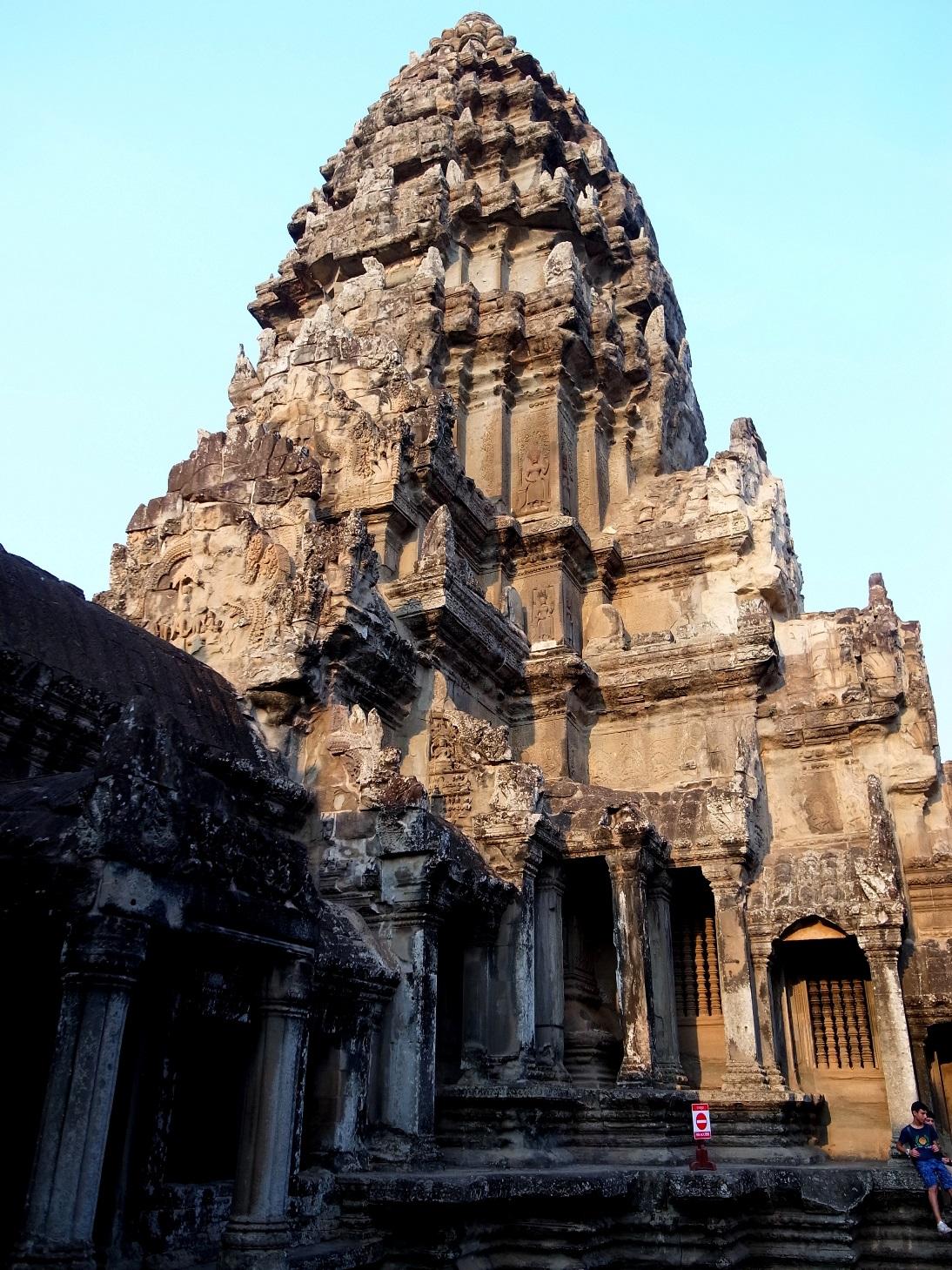 カンボジア、アンコールワット 自転車旅行記