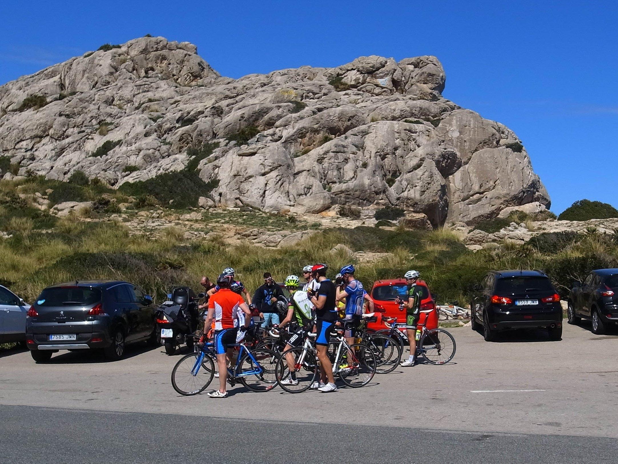 Canyon Ultimate Cf Slxと巡るMallorca(マヨルカ島) サイクリング記 その7(サイクリスト)