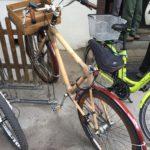 竹フレーム自転車