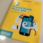 【備忘】オーストラリア・メルボルンの携帯SIM